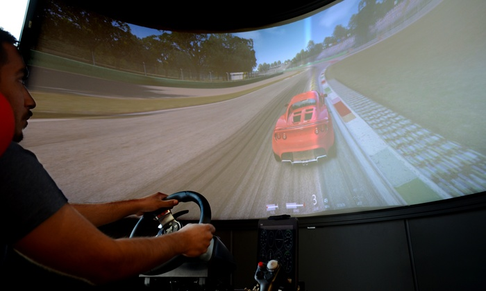 Racing Xtreme - Grapevine Mills: Racing Simulator Experience for One or Two at Racing Xtreme (Up to 41% Off)