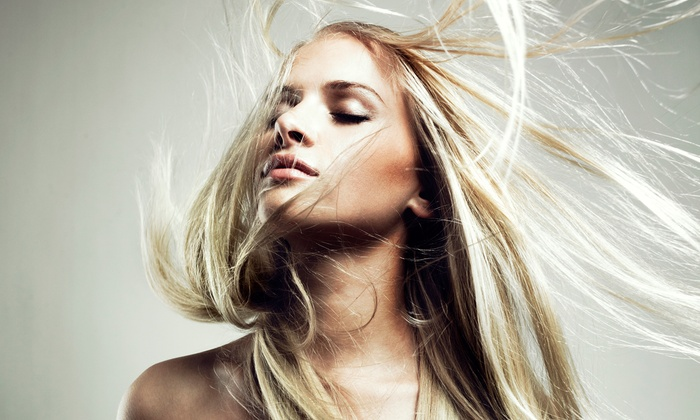 Wisdom Salon - Hicksville: Highlights and Blow-Dry from Wisdom Salon (66% Off)