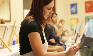 Sketch and Sip: 2.5-Hour BYOB Painting Class for One or Two at Sketch and Sip (Up to 46% Off)