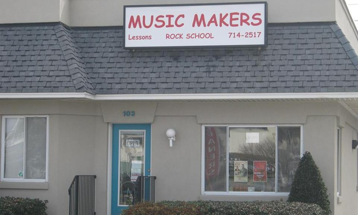 Music Makers - Northeast Virginia Beach: Four Private Music Lessons from Music Makers (40% Off)