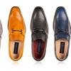 Gino Vitale Men's Diamond-Cut Loafers