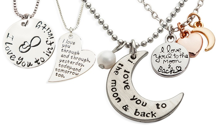 Stamp the Moment: Love Necklaces