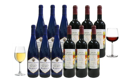 German White And French Red Wine Groupon Goods