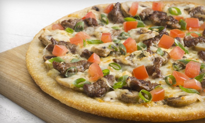 Boston Pizza - Renfrew-Collingwood: Pizza Experience for Two in Bar Area or Three-Course Italian Meal for Two in Dining Area at Boston Pizza (Up to 59% Off)