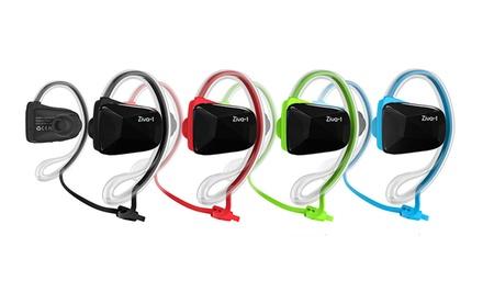 Skyfox Ziva-1 Sports Bluetooth Headphones and Armband Bundle