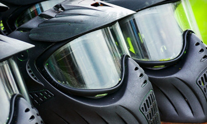 Ambush Paintball - Newton: All-Day Paintball Package with Gear for 1, 4, or 10 at Ambush Paintball in Surrey (Up to 67% Off)