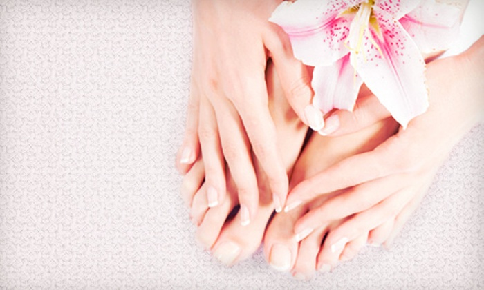 Martin's Coiffeur & Spa - City Centre: Chocolate Pedicure or Chocolate Mani-Pedi at Martin's Coiffeur & Spa (Up to 52% Off)