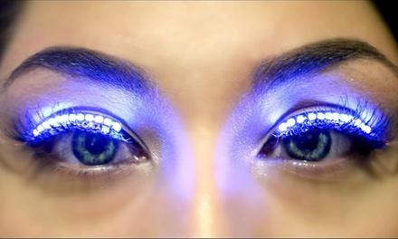 LED Lightup Glow Eyelashes   Groupon