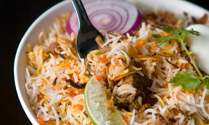 Paradise Biryani Pointe: Indian Cuisine at Paradise Biryani Pointe (40% Off). Two Options Available.