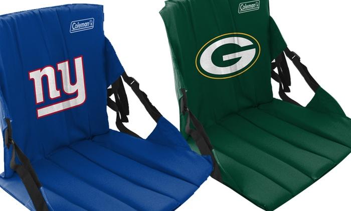 NFL Stadium Seats: $13.99 for an NFL Stadium Seat ($19.99 List Price). Multiple Teams Available. Free Returns.