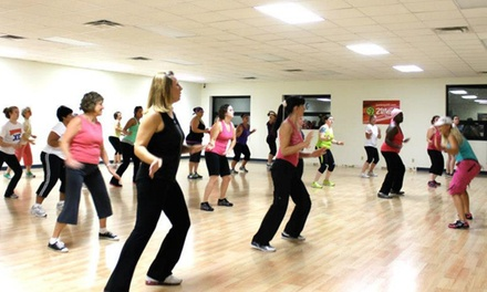 10 or 20 Zumba Classes or One Month of Unlimited Classes at Zumba Get Fit (Up to 63% Off)