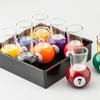 Pool Ball Shot Glass Set (10-Piece)