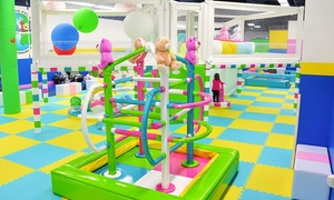 Yu Kids Island: 5 or 10 Unlimited-Play Indoor-Playground Visits to Yu Kids Island in Vernon Hills and Schaumburg (Up to 54% Off)