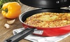 """Cuisinart 10"""" Red Double Omelet Pan: Cuisinart 10"""" Red Double Omelet Pan"""