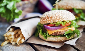 Laid Back Burger Shack: $12 for Two Groupons, Each Good for $10 Worth of Food for Two at Laid Back Burger Shack ($20 Value)
