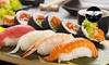 Menu sushi con 40 pezzi