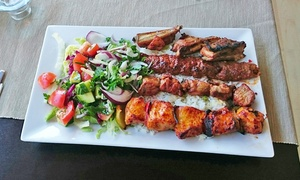 Bosphorus Restaurant: Two-Course Turkish Mixed Grill For Two, Four or Six from £22 at Bosphorus Restaurant (Up to 55% Off)