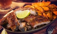 Smokehouse Dinner with Drinks for Two or Four at Boozy Bones (Up to 55% Off)