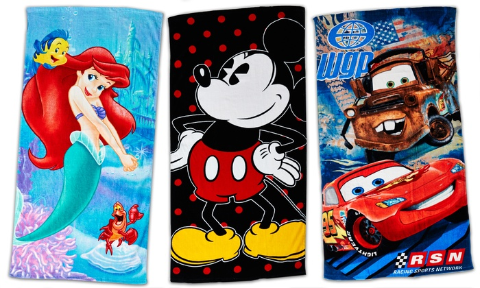 License Beach Towel CHECK FOR CHARACTER