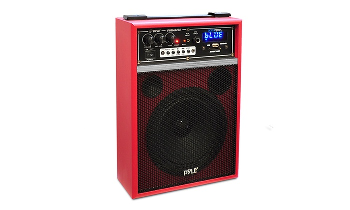 Building A Portable Speaker System Big With Battery