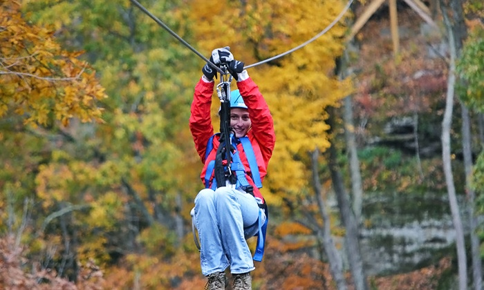 Valley Zipline Tours - Lancaster: Tree Top Zipline Tour for Two or Four at Valley Zipline Tours (Up to 50% Off)