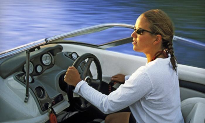 Cowichan Lake Marina - Lake Cowichan: Four- or Eight-Hour Boat Rental from Cowichan Lake Marina (52% Off)