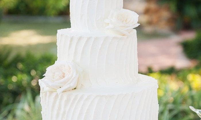 Sweet Escape LLC - Miami: $249 for One Buttercream Wedding Cake for Up to 100 People from Sweet Escape ($600 Value)