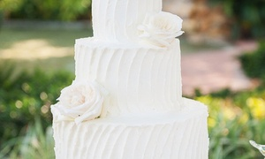 Sweet Escape LLC: $249 for One Buttercream Wedding Cake for Up to 100 People from Sweet Escape ($600 Value)