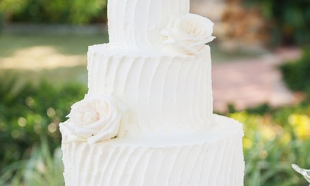 $214 for One Buttercream Wedding Cake for Up to 100 People from Sweet Escape ($600 Value)