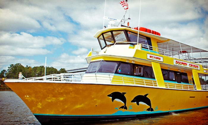 The Sunny Lady Dolphin Cruise at The Wharf - Orange Beach: Dolphin-Watching Cruise from Sunny Lady Dolphin Cruise at The Wharf (Up to 55% Off). Three Options Available.