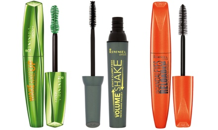 Set of Three Rimmel Mascaras