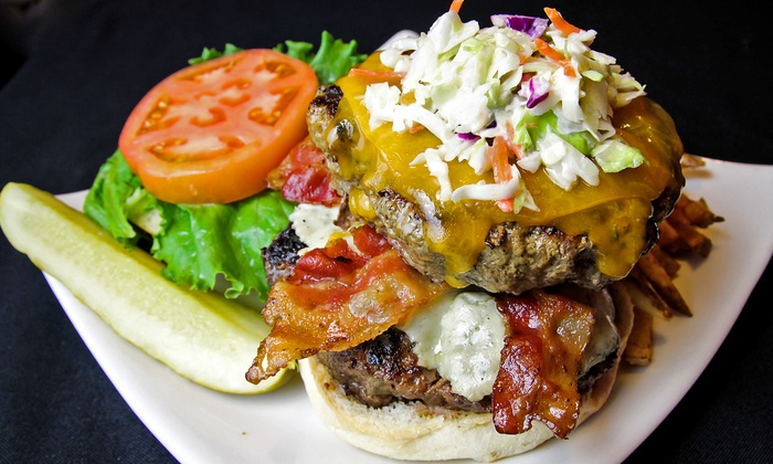 Ringside Cafe - Downtown Columbus: Burgers, Ribs, and more for Two, Four, or More at Ringside Cafe (Up to 50% Off)