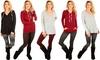Lyss Loo Comfy & Cozy Fleece-Lined Jacquard Leggings: Lyss Loo Comfy & Cozy Fleece Lined Jacquard Leggings
