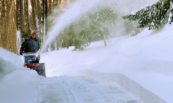 Thomas Lawn Care - Colorado Springs: Two Visits for Snow Removal at Thomas Lawn Care (50% Off)