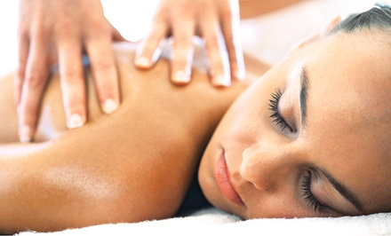 Facial with Eye Treatment, or Massage with Foot Treatment at Terrific Massage & Wellness Spa (Up to 51% Off)