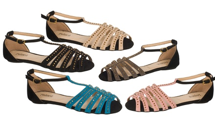 groupon daily deal - Relent Cathy Women's Sandal. Multiple Colors Available. Free Returns.