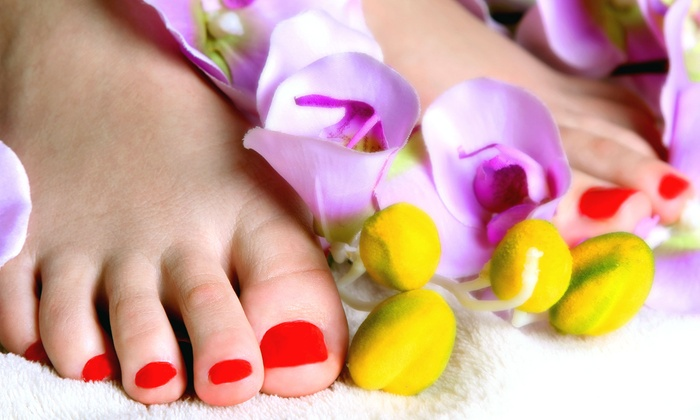 Superior Nails - Bolton: One or Two Deluxe Mani-Pedis at Superior Nails (Up to 51% Off)