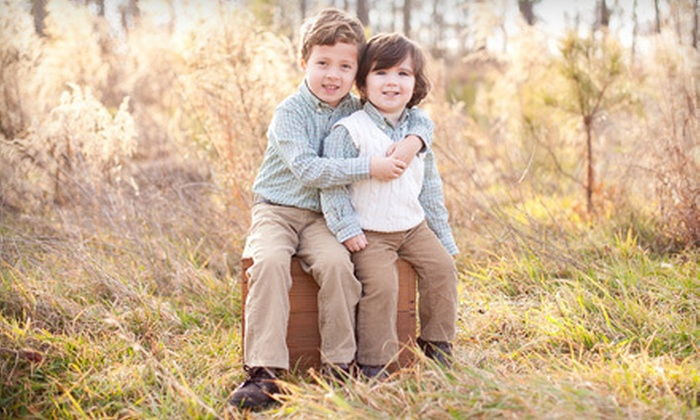 Megan Garrison Photography - Enon: $49 for a 30-Minute Photo Shoot for Up to Five People with Three Prints from Megan Garrison Photography ($155 Value)