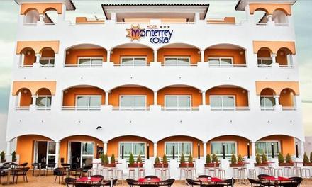 Cádiz: 1, 2 o 3 noches con desayuno, parking, detalle de bienvenida y opción a una cena en Hotel Monterrey Costa
