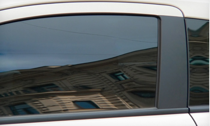 The Tint Guyz - Suisun City: Rear- or Full-Window Tinting for a Sedan at The Tint Guyz (Up to 55% Off)