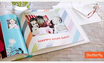 Abilene, TX: 8x8 or 8x11 Custom Photo Book from Shutterfly (Up to 67% Off)