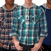 Something Strong Men's Hooded Flannel Shirts