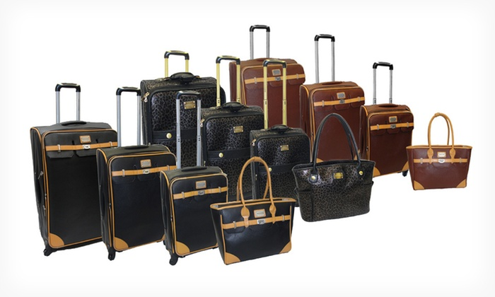 Adrienne Vittadini 4-Piece Luggage Sets: $239.99 for an Adrienne Vittadini Luggage Set ($1,320 List Price). Three Colors Available. Free Shipping and Returns.
