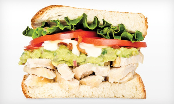 Press'd The Sandwich Company - Sherwood Park: $9 for $18 Worth of Sandwiches and Sides at Press'd The Sandwich Company