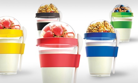 2-Pack of Yo-to-Go Yogurt Containers