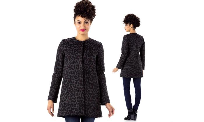 Betsey Johnson Women S Wool Coat Size L