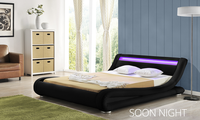 lit led groupon shopping. Black Bedroom Furniture Sets. Home Design Ideas