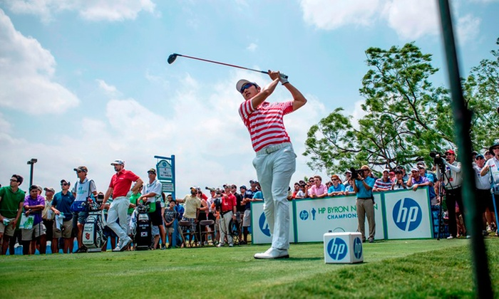 HP Byron Nelson Championship - Las Colinas: $99 for a VIP package to the HP Byron Nelson Championship PGA Tour Tournament on Thursday, May 15 ($212 Value)