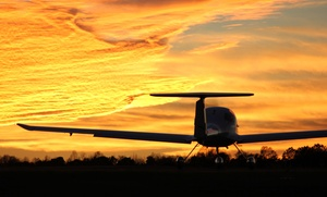 Alpha One Air Service: Discovery Flight Experience or Private Pilot Starter Package from Alpha One Air Service (Up to 57% Off)