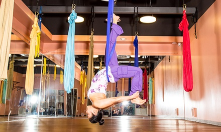 One or Five Aerial Yoga Classes at Spectra Yoga (Up to 59% Off)